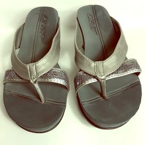DKNYC Shoes - 🌠DKNY gray sandals 🌠